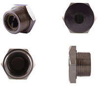 "DH-D6076 - 1"" BSP Thread Inward Relief Valve (Stainless Steel)"