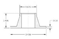 Item # ZZ-A-015, Slip Fit Flange On Drytech Incorporated