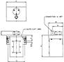 Wall Mtd Tank Vent Dryer schematic